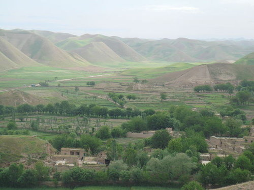 A village in Badghis province