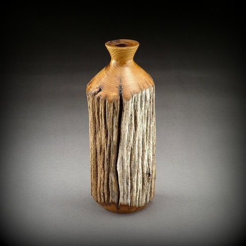 Weathered American Chestnut vase