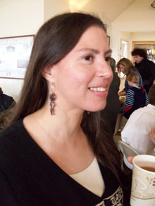 "Elizabeth Perry - Wampanoag Nation ""Pre-contact and Colonial period views, management techniques, and material culture of Native Americans in Massachusetts"" (file photo)"